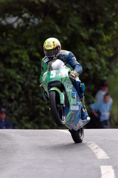Ian Lougher on 125